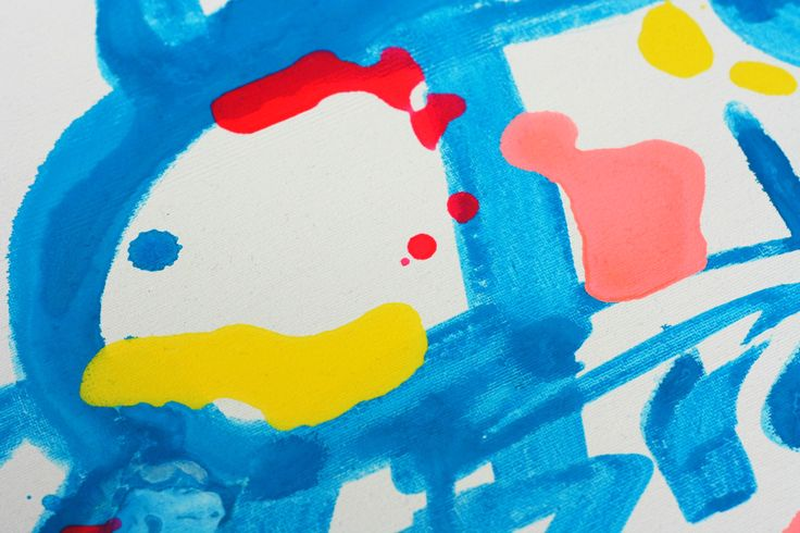 Detail of my new painting #abstractart #art #painting