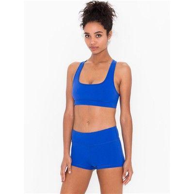 Prezzi e Sconti: #American apparel pantaloncini blu Donna  ad Euro 41.00 in #Pantaloncini #Shorts bermuda