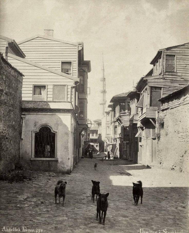 Eski İstanbul / Sultanahmet / Abdullah Fréres fotoğrafı