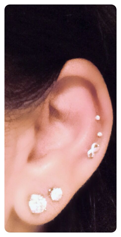 Cartilage piercings