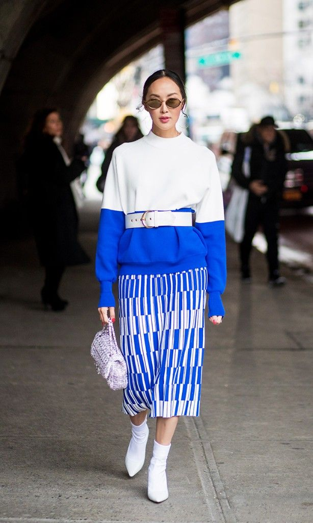 The bold color every fashion editor is rocking.
