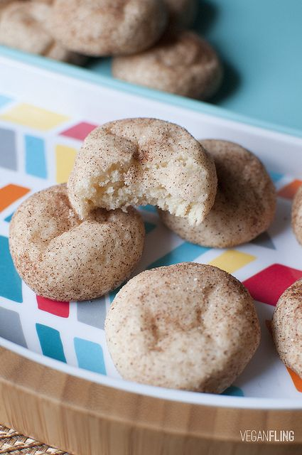 Snickerdoodle Cookies | Vegan Fling