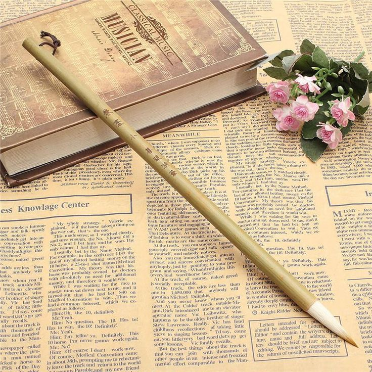 Kiwarm Excellent Quality Woolen and Weasel Hair Small Regular Script Writing Brushes Chinese Calligraphy Brushes Pen
