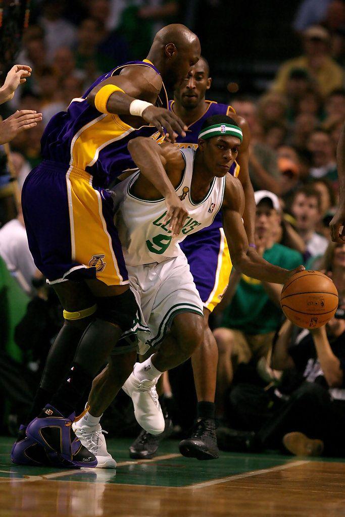 Rajon Rondo - NBA Finals Game 2: Los Angeles Lakers v Boston Celtics