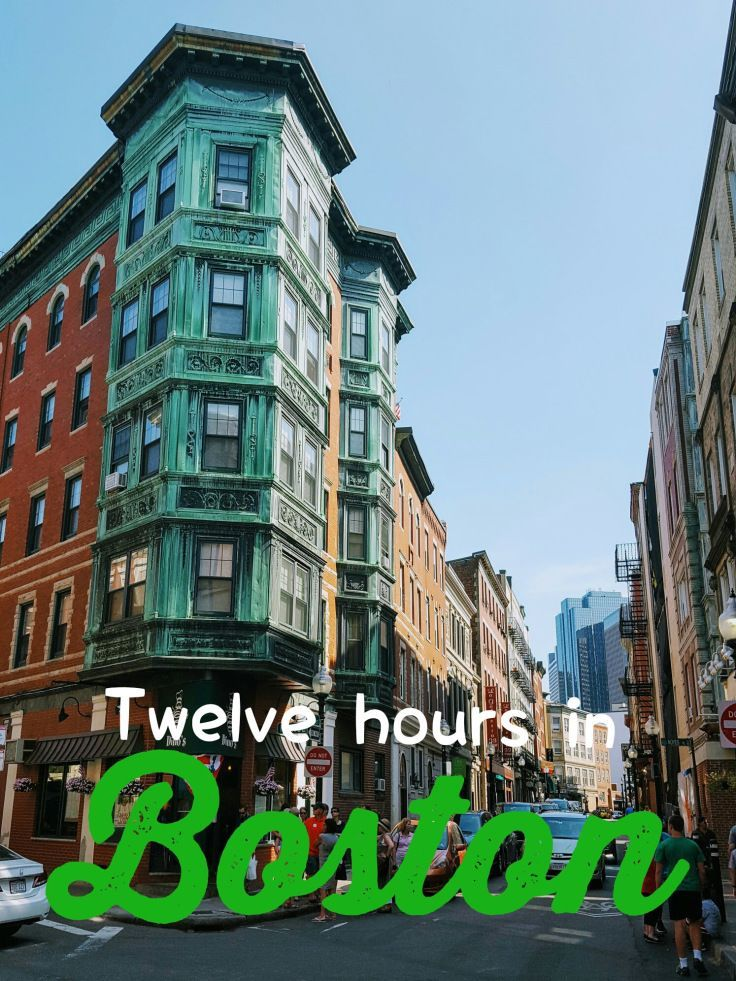 What can you do in twelve hours in Boston?  Turns out, a lot!  The Freedom Trail is an easy to follow path through the streets of downtown Boston, highlighting historic and fascinating things to see.