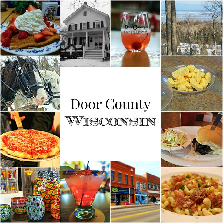 Door County, Wisconsin is a winter wonderland. It's a beautiful place to visit - here are five reasons you should go.