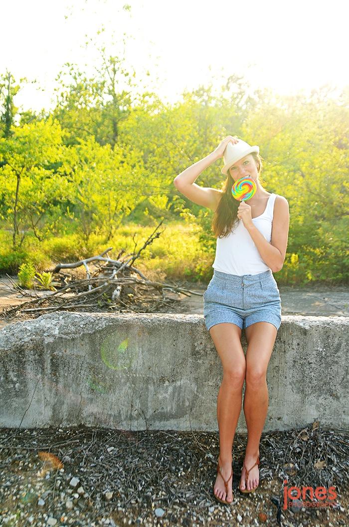 Summertime Emily.