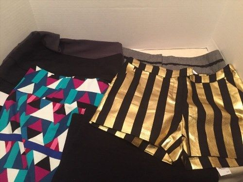 42.75$  Watch now - http://viqni.justgood.pw/vig/item.php?t=wx79m255133 - Short shorts & miniskirts Charlotte Russe, Wet Seal Black Dancer 6 Goth Gold