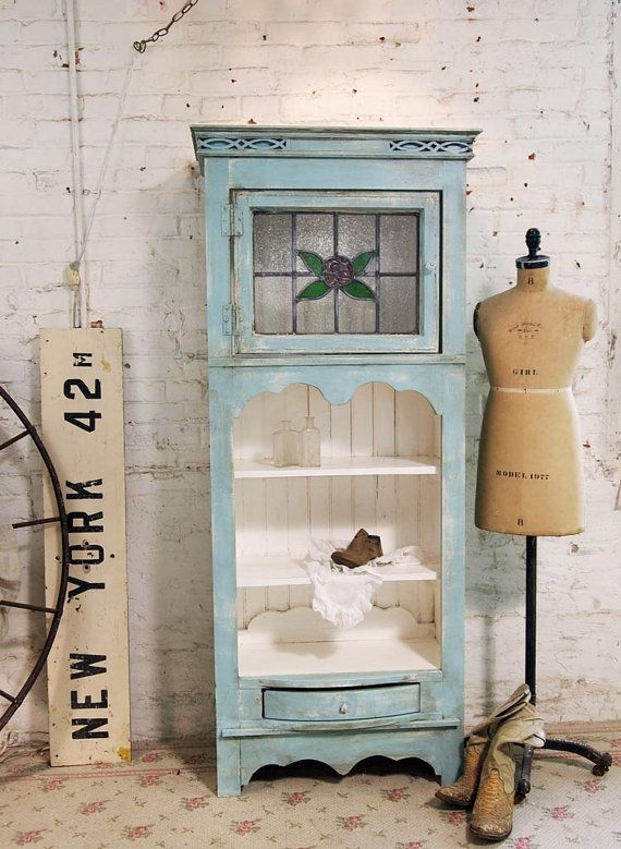 Painted Cottage Chic Shabby Aqua Hand Made by paintedcottages, $595.00: Old House, Shabby Aqua, Cottage Chic, Hands Made, Cottages Chic, Paintings Cottages, No Closet, Chic Shabby, Aqua Hands