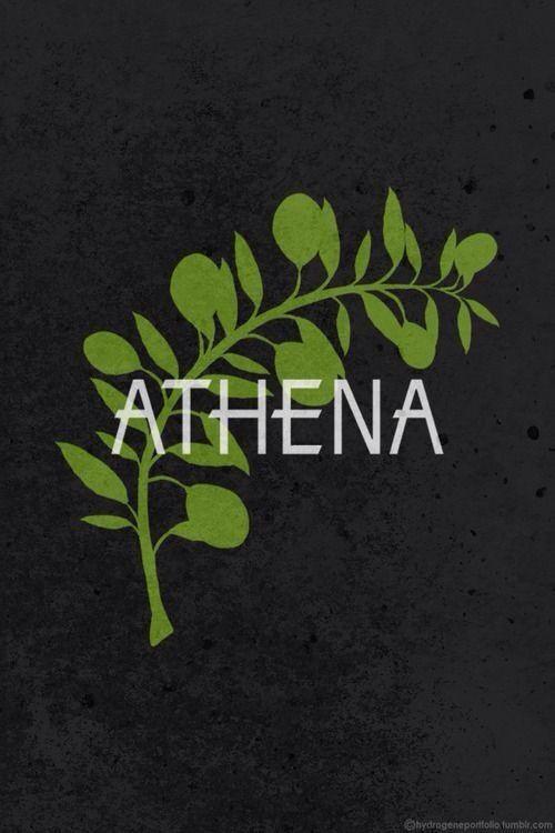 Athena's symbol<<< actually Athena's symbol is an owl but ok