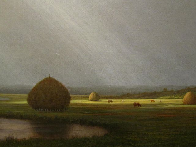 After the Rain in the Salt Marshes by Martin Johnson Heade