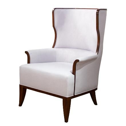 Kindel : Beckman Wing Chair. One Of The Most Sophisticated Wing Chairs.