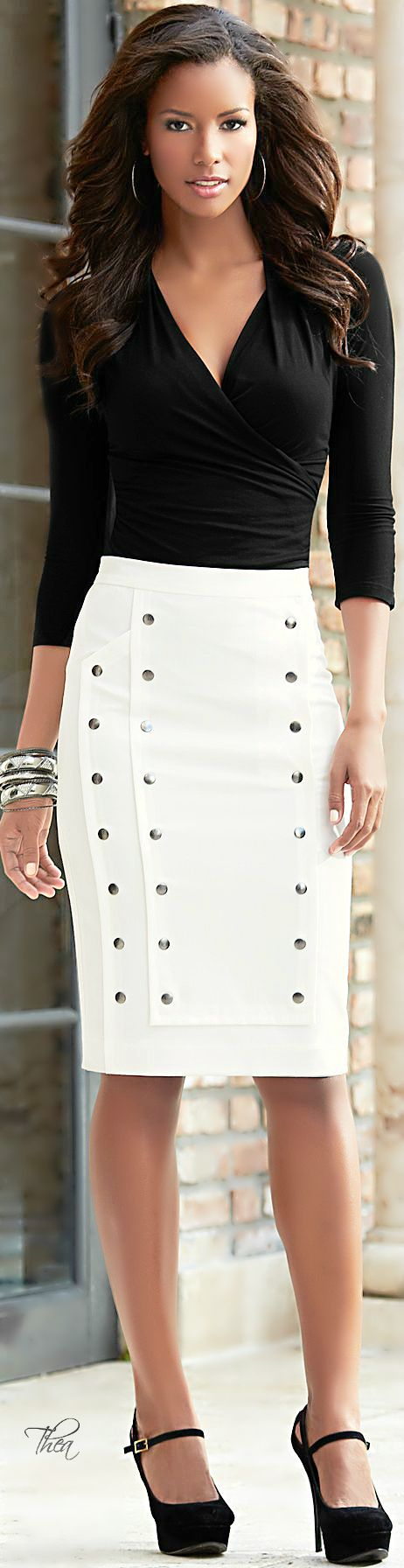 Love the top and cute skirt if I had an occasion for it...