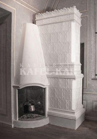 Piec kaflowy na Zamku Królewskim w Warszawie | Odtworzony, kafle z Kaflarni Kafel-Kar
