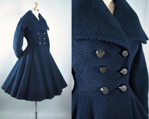 1950's Lilli Ann Princess Coat.