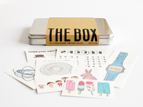 Tattly Subscription    A six-month subscription to Tattly's temporary tattoos will give the badass with a fear of needles some street cred.: Hipster Tattoo, Appoint Temporary, Gifts Ideas, Tatt Tattoo, Kids Tattoo, Tattoo Subscription, Temporary Tattoo, Tatt Boxes, Fun Gifts