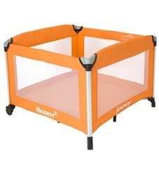 Joovy Room² Playard.  With over 10 square feet of floor space, the Room² provides your child with almost 50% more living space than traditional playards.