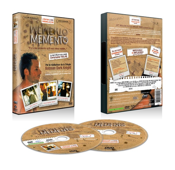 Memento en édition Chronollector By Ciné-Solutions Distribution