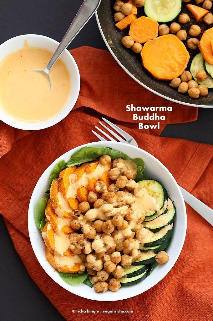 Buddha bowl patate douce et pois chiches - On craque pour le Buddha bowl ! - Elle à Table
