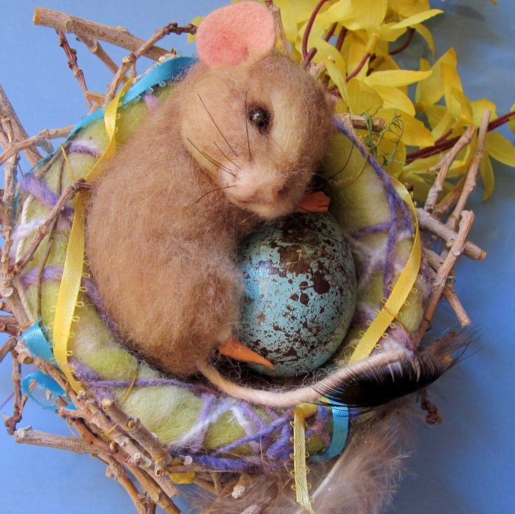Needle Felted Art by Robin Joy Andreae -- The Promise of Spring