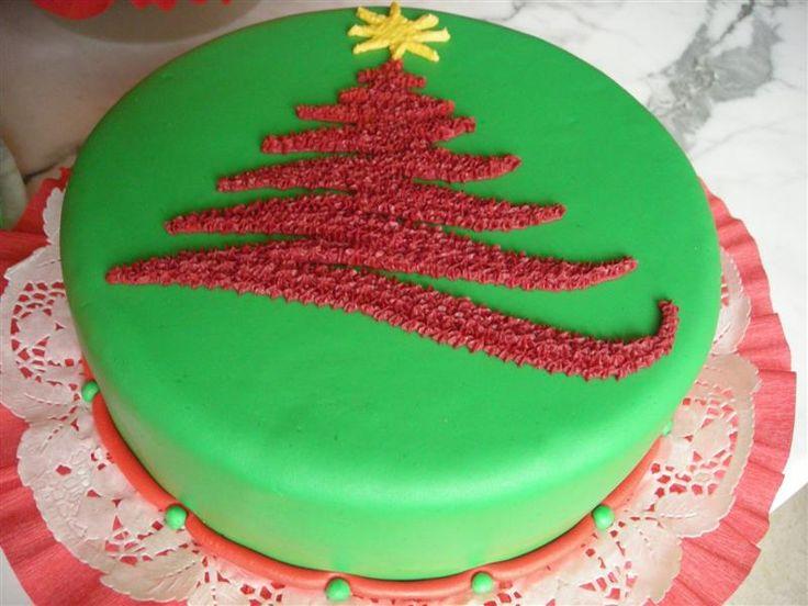 Nuevas Tendencias en Decoración de Tortas: Tortas Navideñas