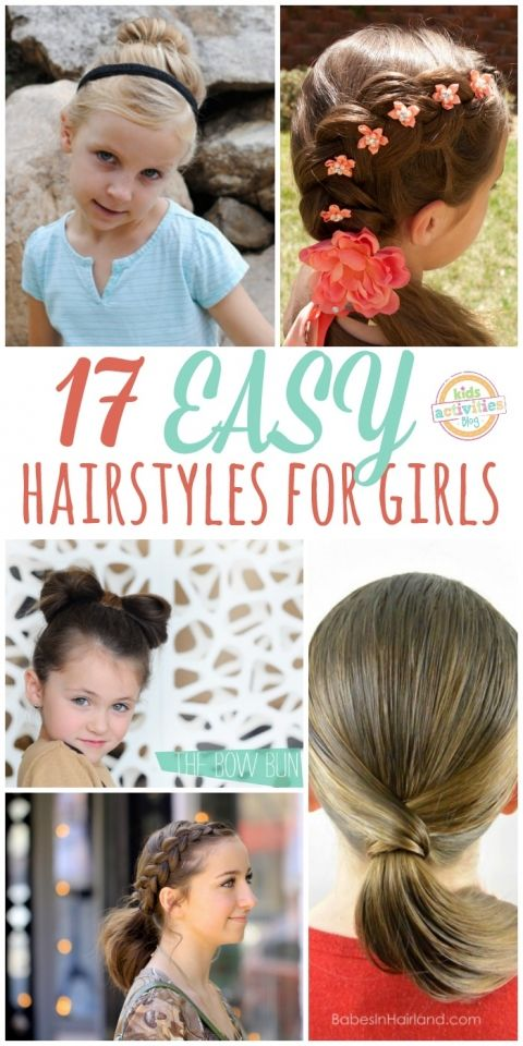 17 easy Girl hair styles