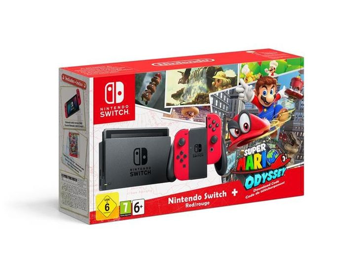 Nintendo Switch - Super Mario Edition Konsoll