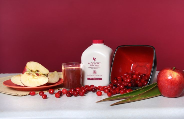 Forever Aloe Berry Nectar All the benefits of Aloe Vera Gel coupled with a sweet blend of apple and cranberry juice. Tastes fruity and fresh and is very popular with children.