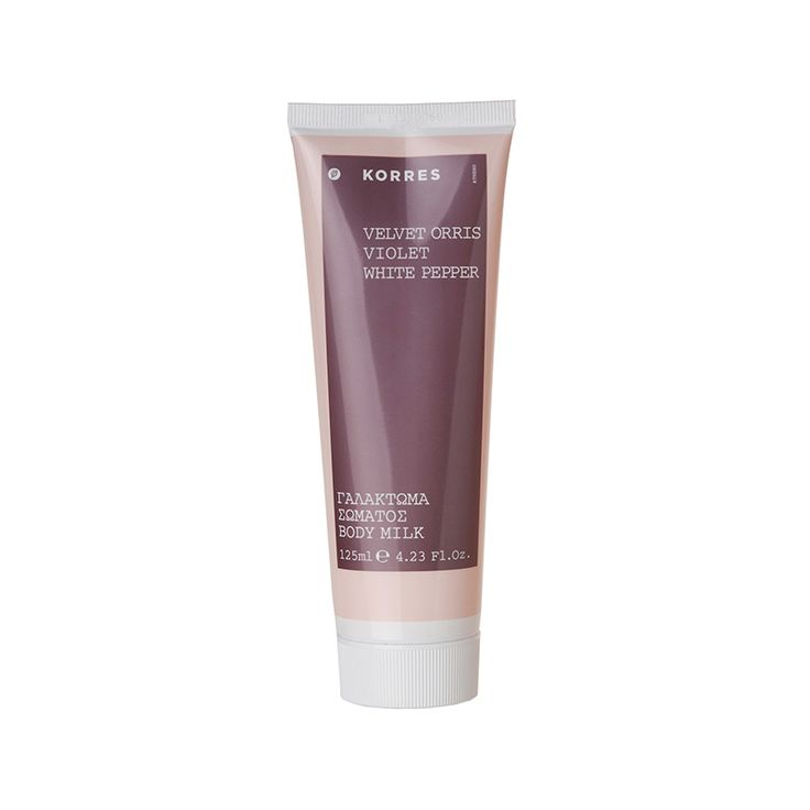 Korres Velvet Orris Violet Body Milk    *DISCLOSURE: This is an affiliate link. This means that if you purchase an item or items through this link, you won't pay a penny more, but Nialogique will earn a commission for the influence of the sale.