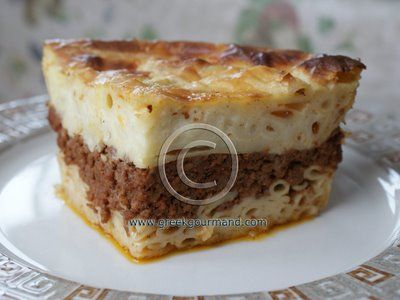 (Παστίτσιο) Pastitsio is to Greek cuisine what Lasagna ...