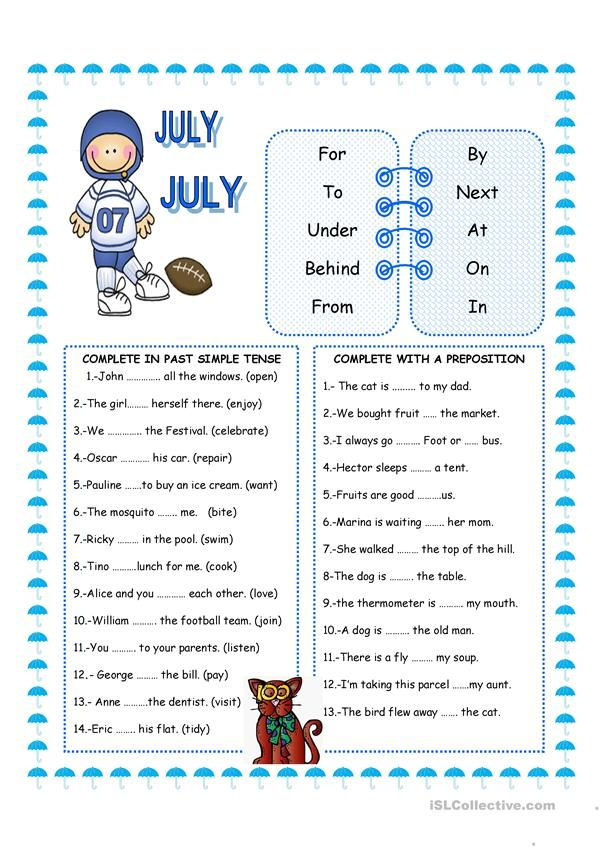 Prepositions And Past Simple English Esl Worksheets For Distance Learning And Physical Classrooms Prepositions Writing Skills Teaching Jobs Simple english worksheets for