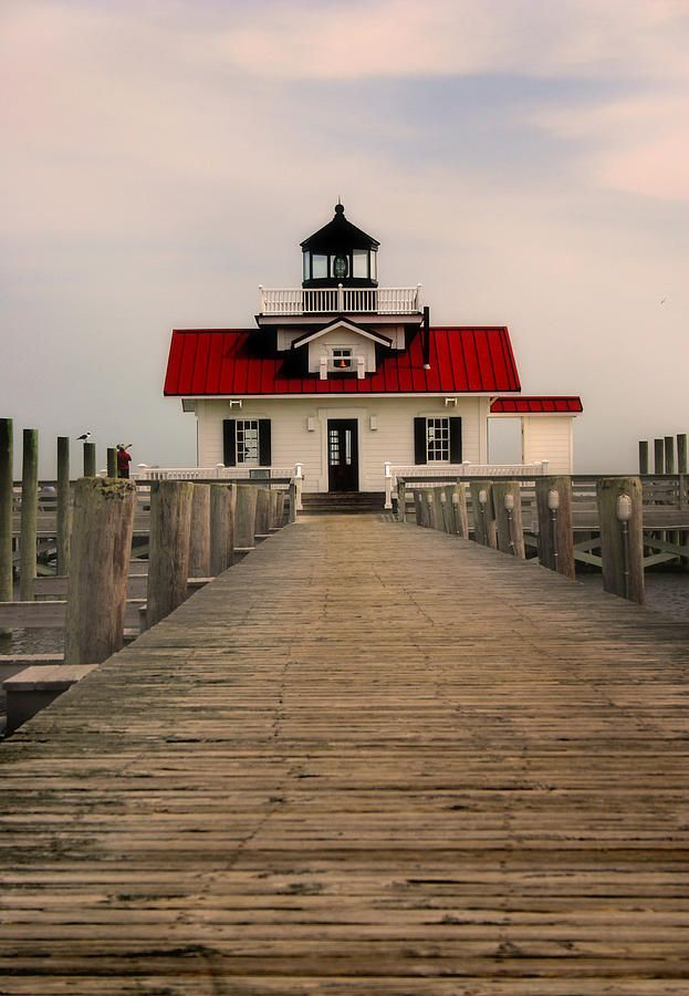 ✮ Manteo Lighthouse found on Roanoke Island in the Outer Banks of North Carolina