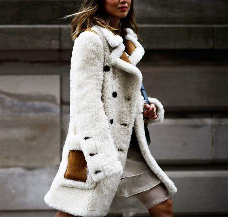 Moda uliczna na NYFW jesień-zima 2016/2017 Street style New York Fashion Week outfit