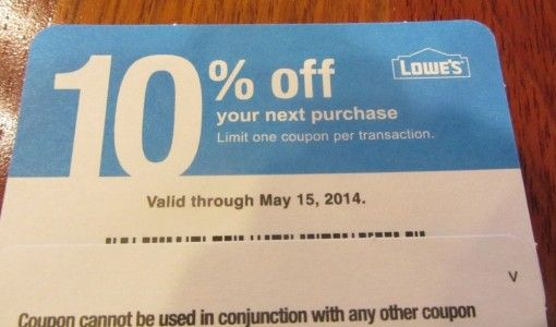 lowes home depot printable coupon
