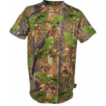 Camiseta Caza Manga Corta Jack Pyke Oak Camuflaje Roble Ingles. Ahora en descuento.