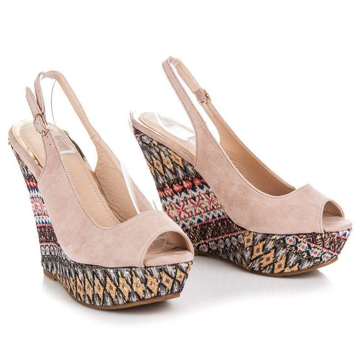 Dámske sandále ETNO FL22229BE
