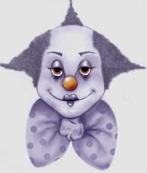 Kaz Originals: Halloween Circus Clown