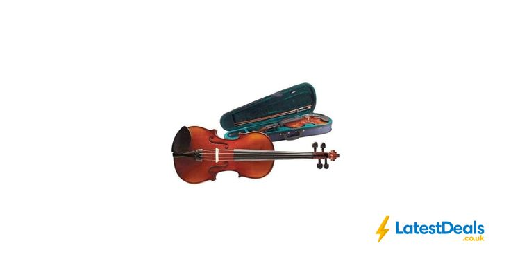 Stagg Solid Maple Violin with Soft Case Save £56.28 Free Delivery, £34.72 at Amazon UK