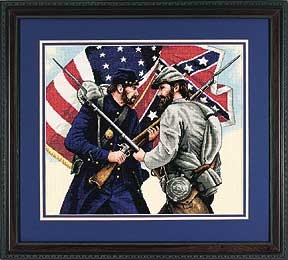 Gettysburg - Cross Stitch Kit  I am working on this one right now!  SHS