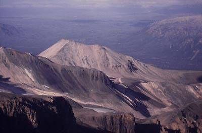 The Pyramid, a young lava dome on the NE flack of Mt Edziza