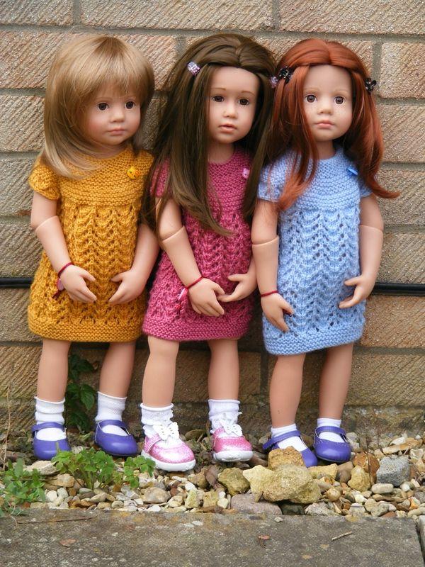 Tuto robe Eugénie pour poupée Gotz                                                                                                                                                                                 Plus