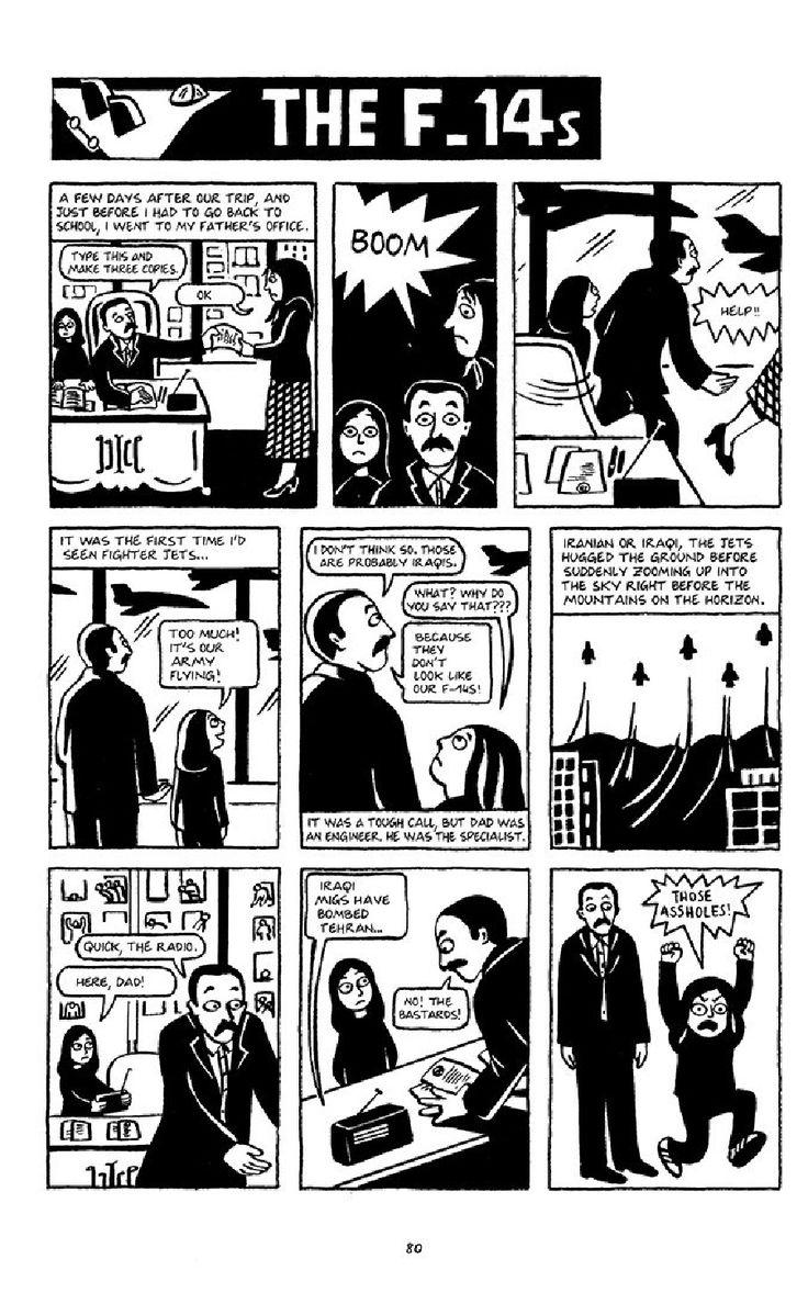 Satrapi Persepolis 1 English Books To Read Online English Comics