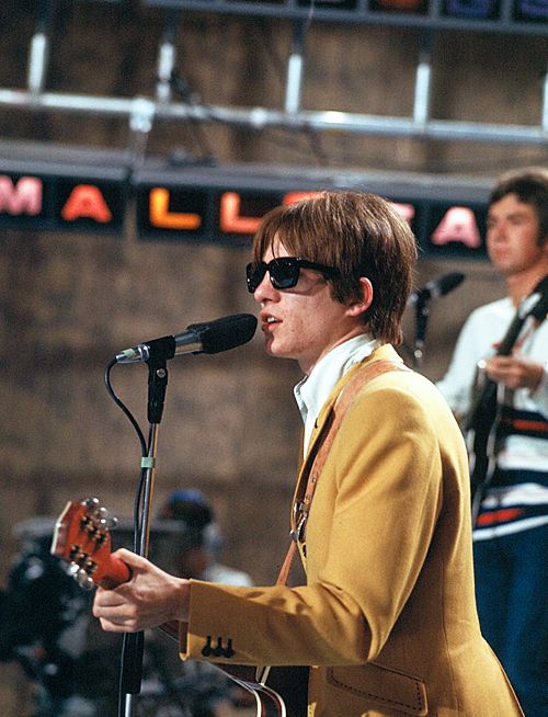 "Steve Marriott of The Small Faces, on ""Ready Steady Go!"" (UK, Rediffusion TV). 1966"