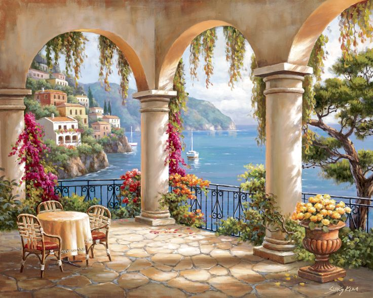 Terrace Arch by Sung Kim