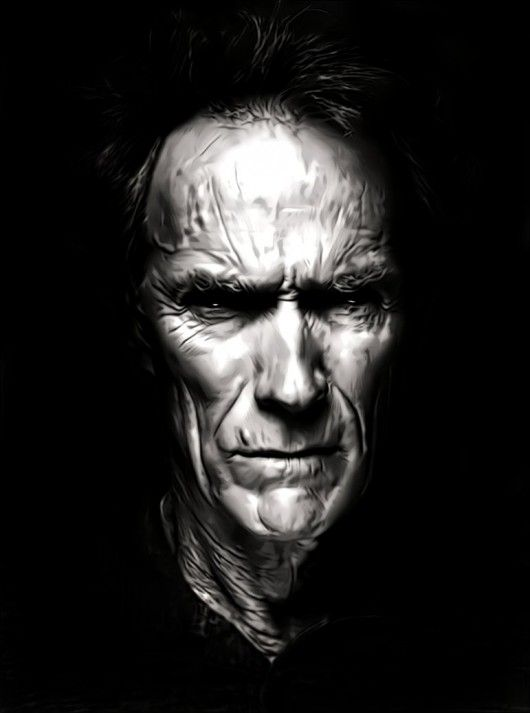 Clint Eastwood old, really neat details