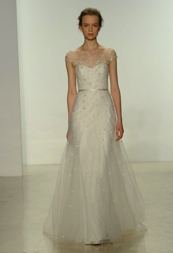 Hottest dresses from new york bridal fashion week spring 2015 for New york wedding dresses online