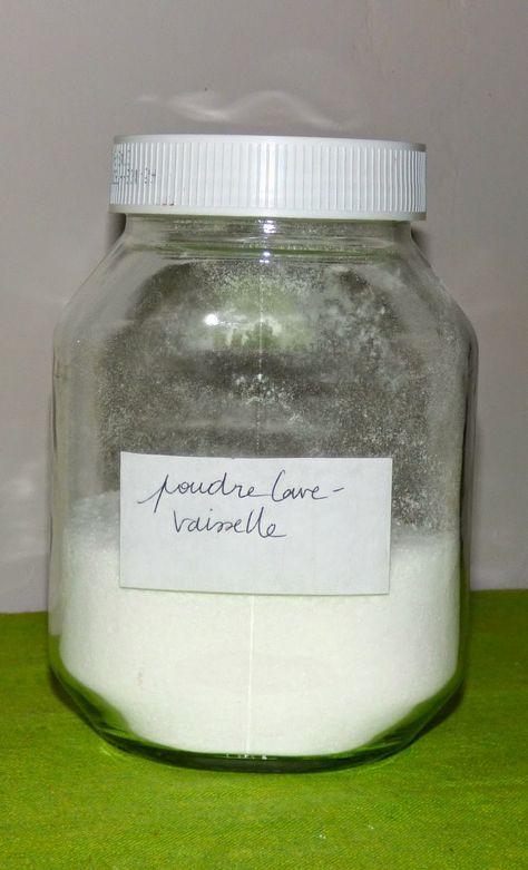 produit lave-vaisselle maison : la nouvelle formule qui marche très bien : cristaux de soude, acide citrique et sel fin, la recette de Béa Johnson. Une semaine à Paris-Forêt