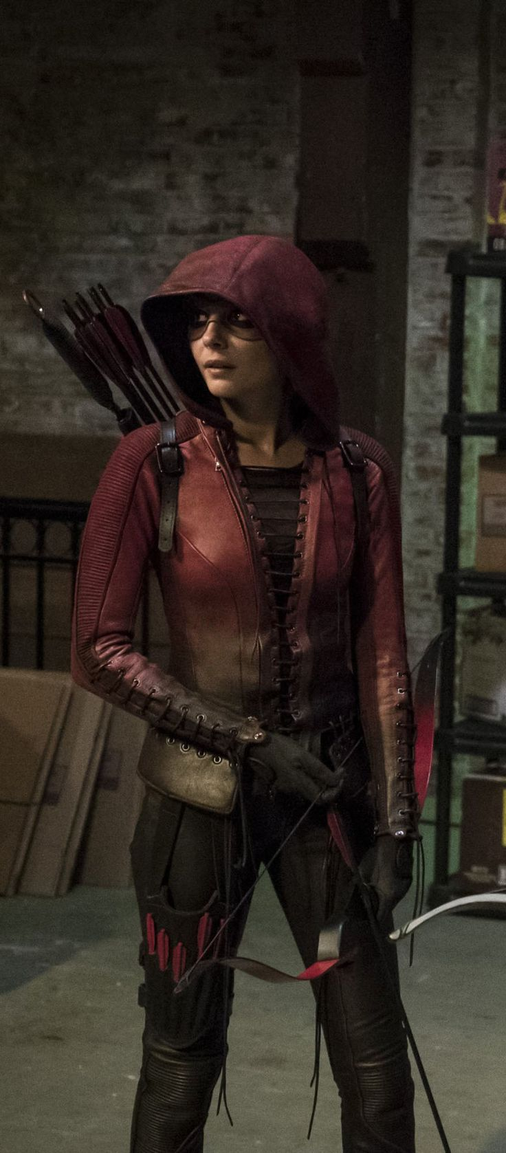 Arrow 4x02 - Speedy / Red Arrow (Thea Queen)