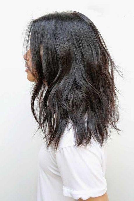 Medium Layered Haircuts 2018 # Layered #Haircuts #Medium