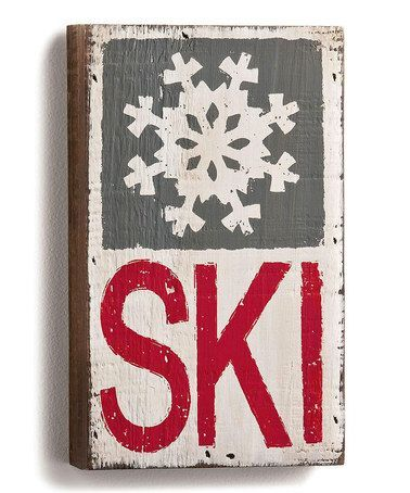 Vintage ski signs                                                                                                                                                                                 More http://amzn.to/2sb7y6W